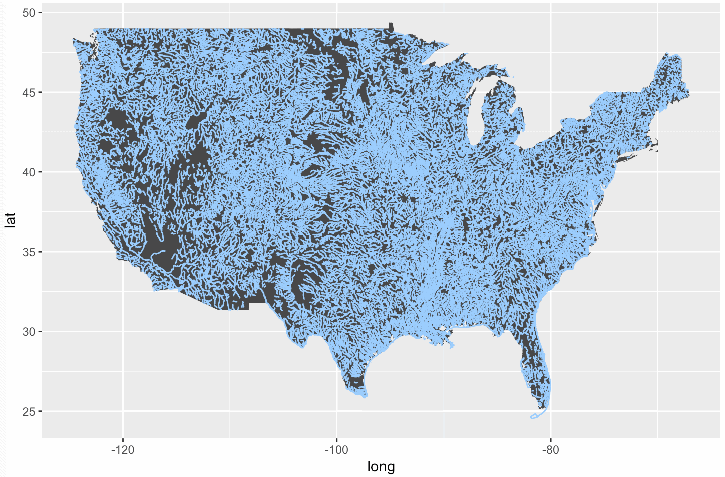 How to map geospatial data: USA rivers | R-bloggers