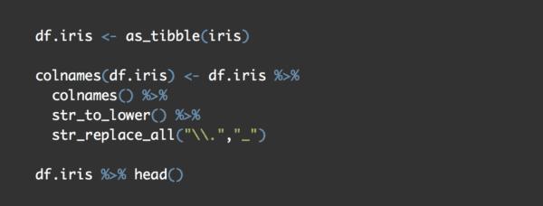 Simple practice: data wrangling the iris dataset