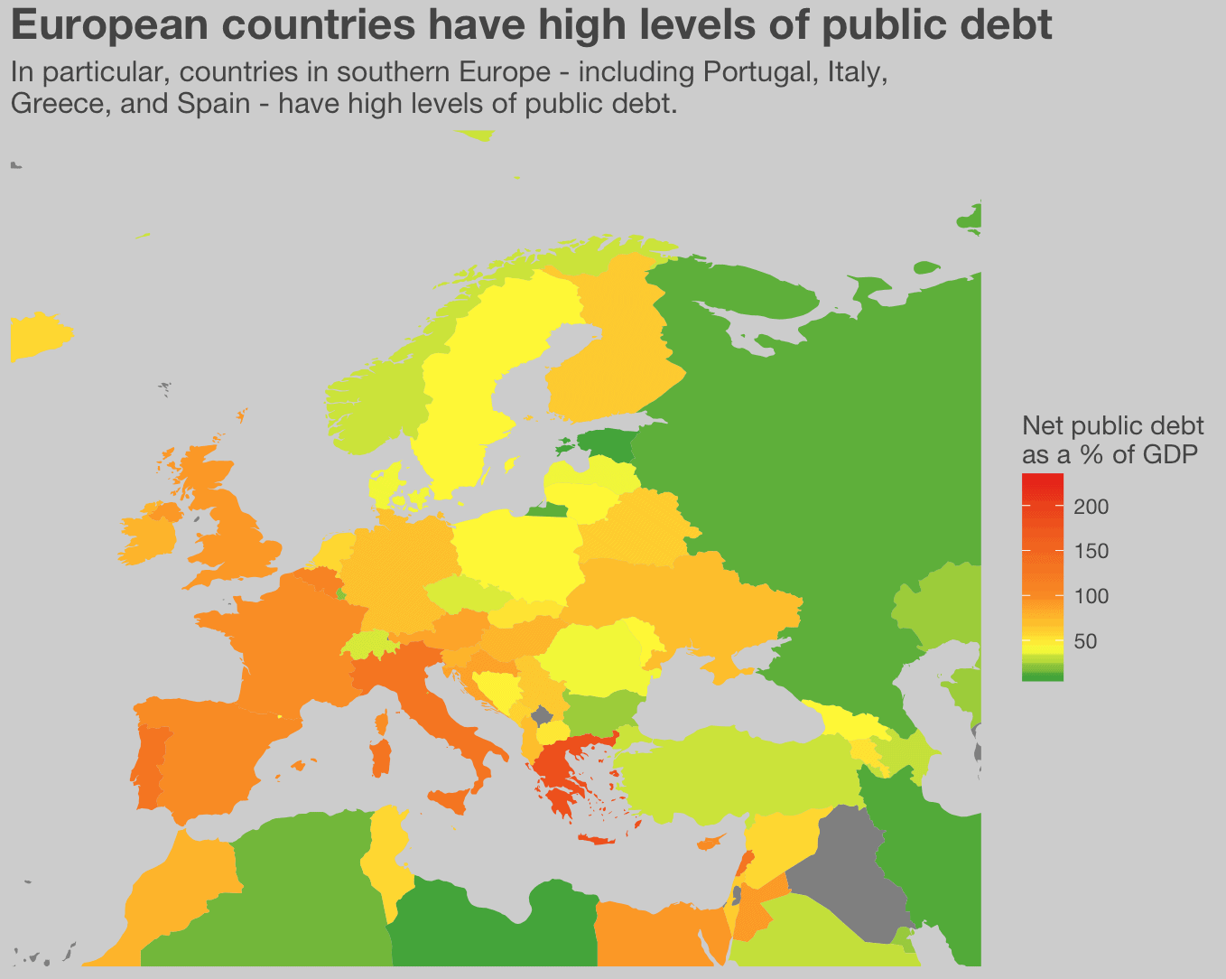 How to map public debt data with ggplot2 | R-bloggers